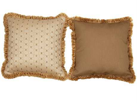 South Sea Rattan Pillow Talk Large Coal Classic Pillow