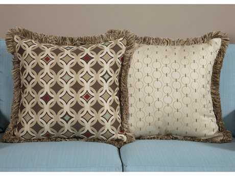 South Sea Rattan Pillow Talk Large Tango Pillow SRPT2L