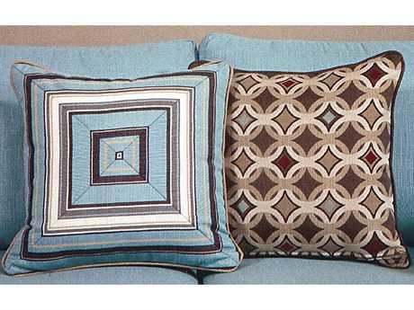 South Sea Rattan Pillow Talk Medium Tango Pillow SRPT2M