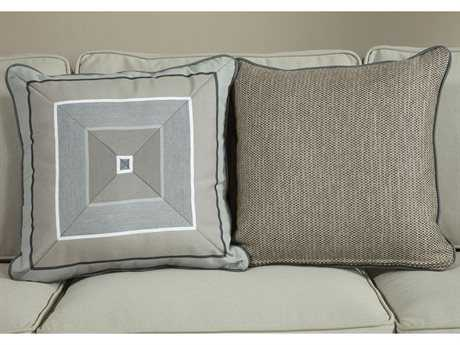 South Sea Rattan Pillow Talk Medium Slate Pillow SRPT5M