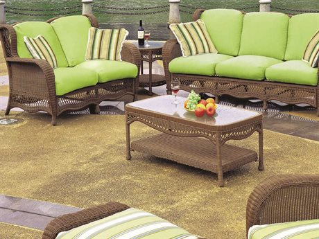 South Sea Rattan Riviera Wicker Lounge Set