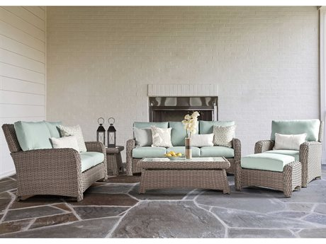 Saint Tropez Wicker Lounge Set