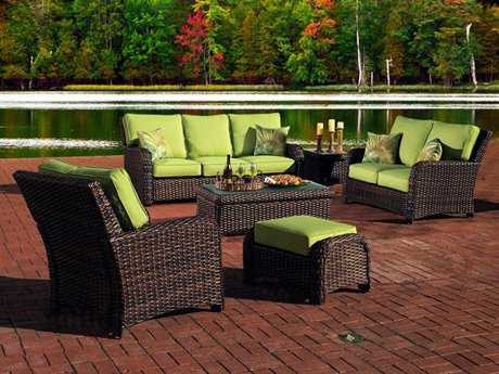 South Sea Rattan Saint Tropez Wicker Lounge Set