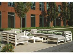 The Cambridge Recycled Plastic Cushion Sectional Lounge Set