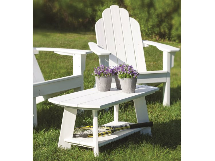 Seaside Casual The Classic Adirondack Recycled Plastic Lounge Set PatioLiving