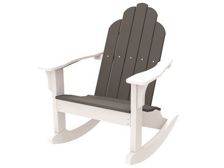 Seaside Casual Classic Adirondack Recycled Plastic Rocker Chair