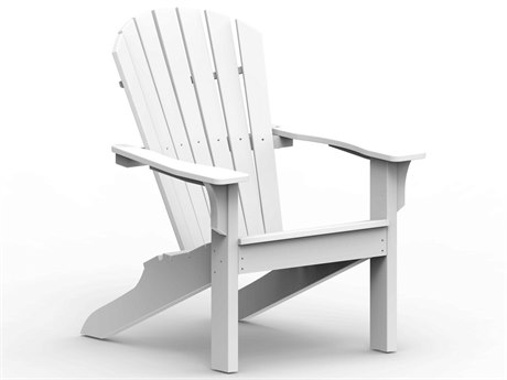 Seaside Casual The Shellback Adirondack Recycled Plastic Chair