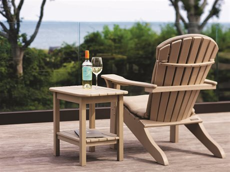 Seaside Casual The Shellback Adirondack Recycled Plastic Cushion Lounge Set
