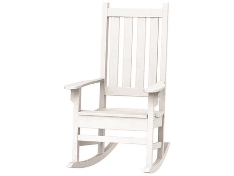 Seaside Casual Complementary Pieces Recycled Plastic Traditional Porch Rocker Chair