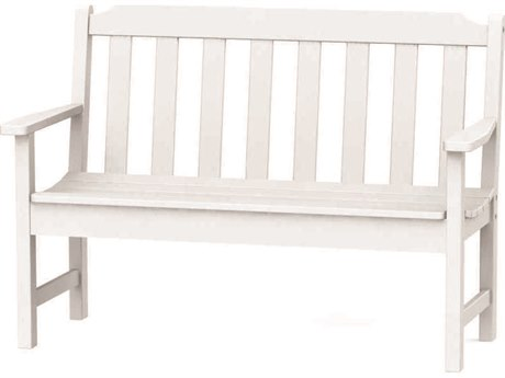 Seaside Casual Complementary Pieces Recycled Plastic Newport 4ft. Bench