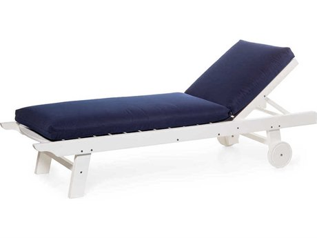Seaside Casual Complementary Pieces Recycled Plastic Kingston Chaise Lounge
