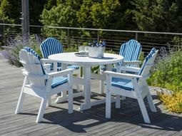 The Salem Rounds Recycled Plastic Dining Set