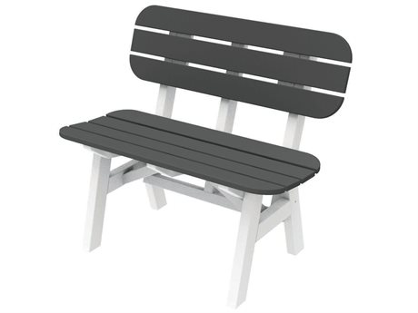 Seaside Casual The Portsmouth Recycled Plastic 3 ft. Bench
