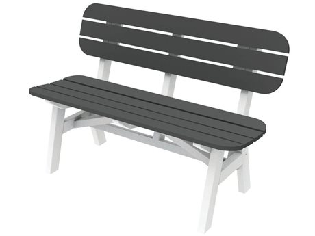 Seaside Casual The Portsmouth Recycled Plastic 4 ft. Bench