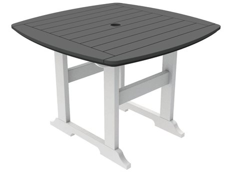 Seaside Casual The Portsmouth Recycled Plastic 42'' Wide Square Dining Table