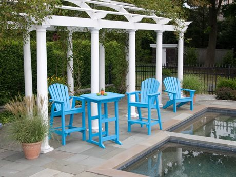 Seaside Casual Portsmouth Recycled Plastic Bar Set