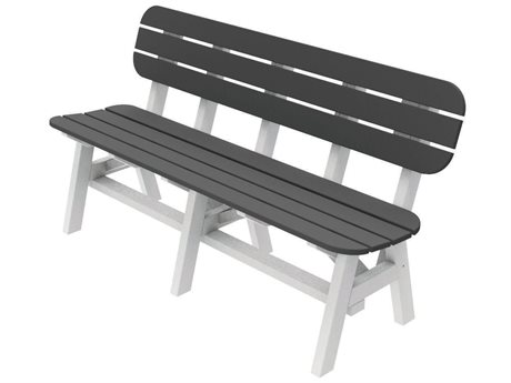 Seaside Casual The Portsmouth Recycled Plastic 5 ft. Bench