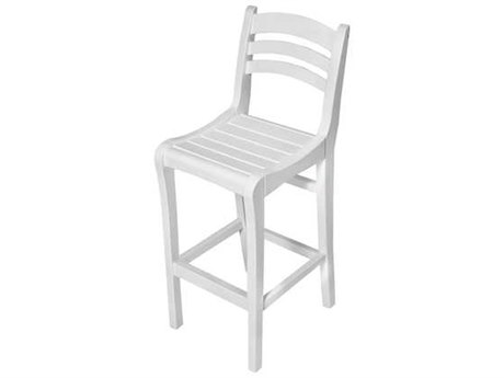 Seaside Casual Charleston Chairs Recycled Plastic Bar Chair