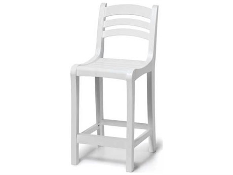 Seaside Casual Charleston Chairs Recycled Plastic Counter Chair
