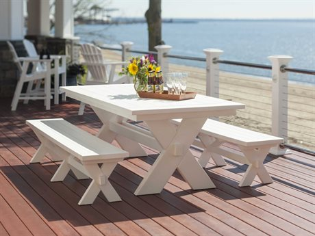 Seaside Casual Sonoma Recycled Plastic Dining Set