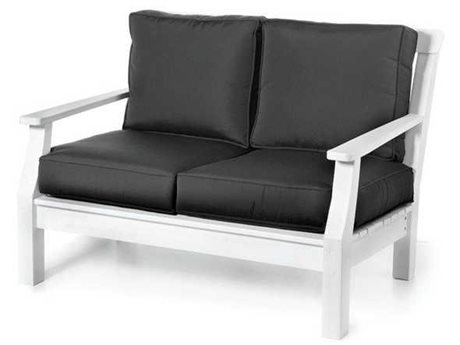 Seaside Casual The Nantucket Recycled Plastic Loveseat