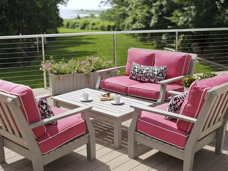 Seaside Casual The Nantucket Recycled Plastic Cushion Lounge Set
