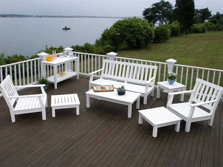 Seaside Casual Nantucket Recycled Plastic Lounge Set