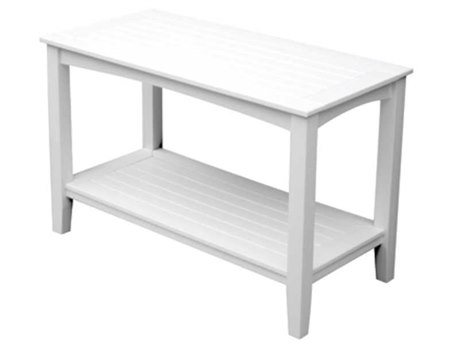 Seaside Casual Complementary Pieces Recycled Plastic Windsor 50''W x 24''D Rectangular Large Buffet Table