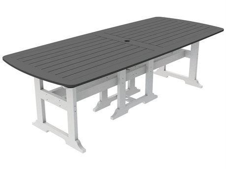 Seaside Casual The Portsmouth Recycled Plastic 100''W x 42''D Rectangular Dining Table