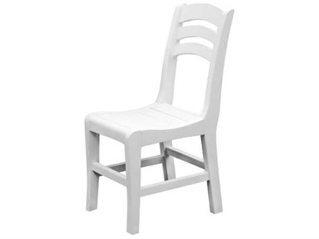 Seaside Casual The Charleston Chairs Recycled Plastic Dining Side Chair