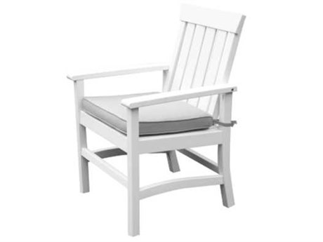 Seaside Casual Complementary Pieces Recycled Plastic Hampton Dining Arm Chair (Sold in 2)