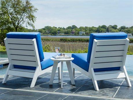 Seaside Casual Dex Recycled Plastic Cushion Lounge Set