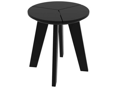 Seaside Casual The Dex Recycled Plastic 17''Wide Round End Table