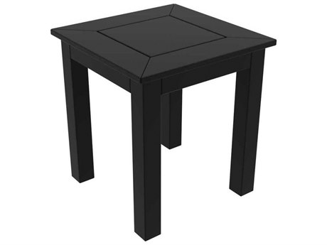 Seaside Casual The Dex Recycled Plastic 16''Wide Square End Table
