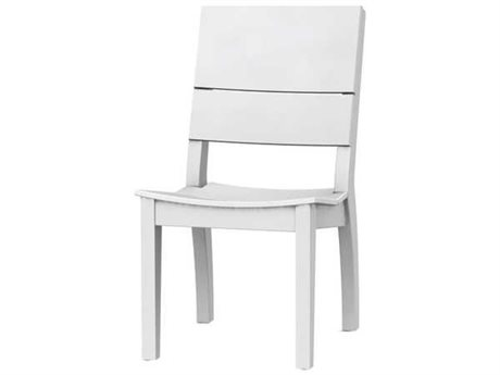 Seaside Casual Sym Recycled Plastic Dining Side Chair