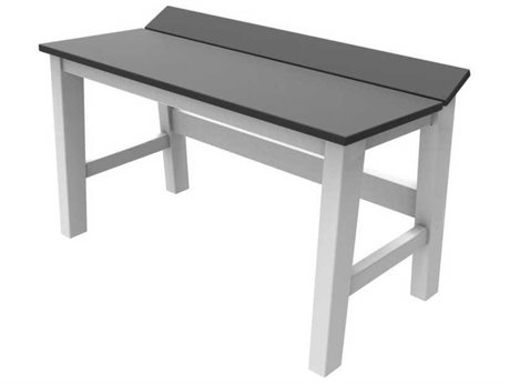 Seaside Casual The Sym Recycled Plastic 28'' Wide Dining Bench