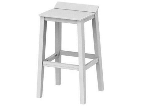Seaside Casual The Sym Recycled Plastic Bar Stool