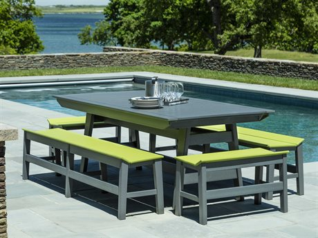 Seaside Casual Mad Recycled Plastic Dining Set