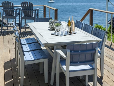 Seaside Casual The Mad Recycled Plastic Dining Set