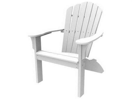Seaside Casual The Coastline Recycled Plastic Harbor View Folding Adirondack Chair