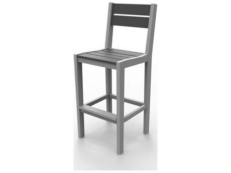 Seaside Casual The Coastline Recycled Plastic Cafe Bar Stool