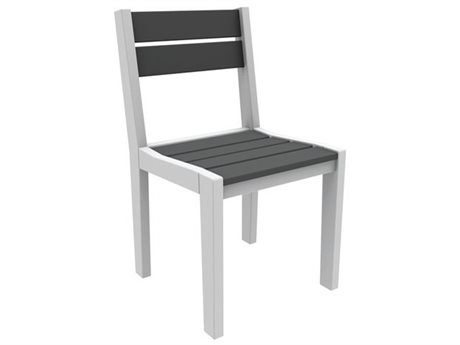 Seaside Casual Coastline Recycled Plastic Cafe Fusion Dining Side Chair