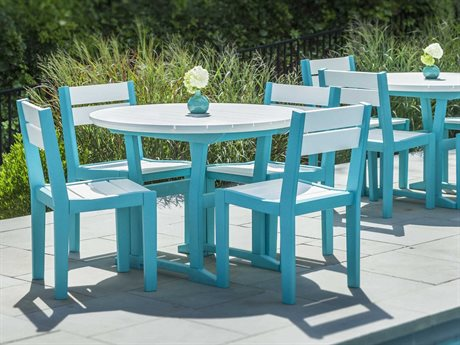 Seaside Casual Coastline Recycled Plastic Cafe Dining Set