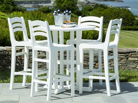 Seaside Casual The Coastline Recycled Plastic Cafe Bar Set