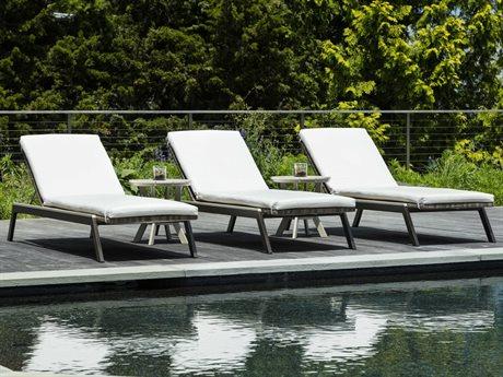 Seaside Casual Mad Aluminum Cushion Lounge Set