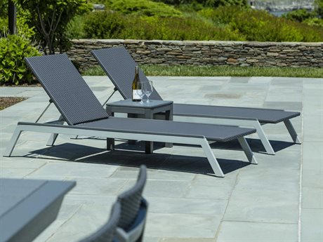 Seaside Casual The Mad Aluminum Wicker Lounge Set