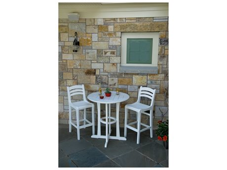 Seaside Casual Charleston Recycled Plastic Bar Set