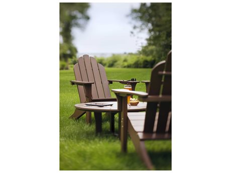 Seaside Casual Classic Adirondack Recycled Plastic Lounge Set