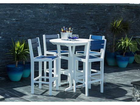 Seaside Casual Coastline Recycled Plastic Bar Set