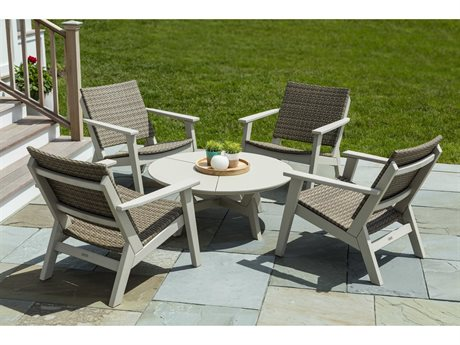 Seaside Casual Mad Recycled Plastic Lounge Set